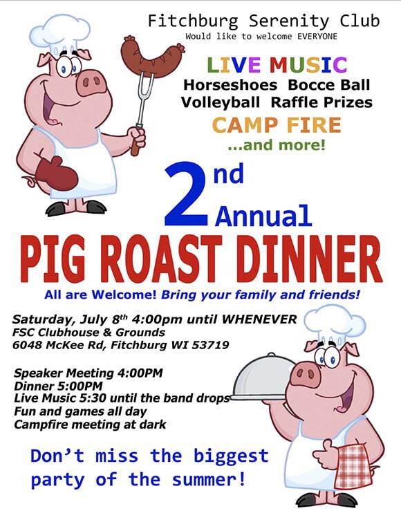 2nd Annual Pig Roast 2017
